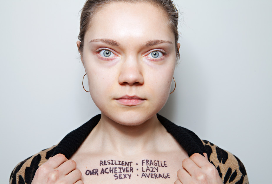 �i am not my identity� what i be project by steve